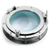 Chrome plated build-in portholes